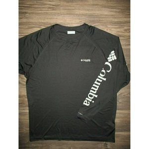 Columbia Spellout Shirt LARGE Fishing